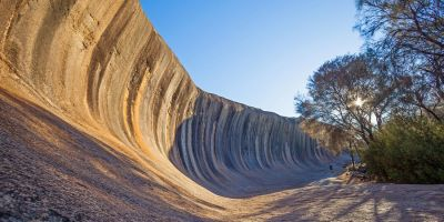 Why is Wave Rock shaped like a wave?