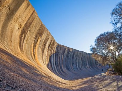 Why is Wave Rock shaped like a wave?