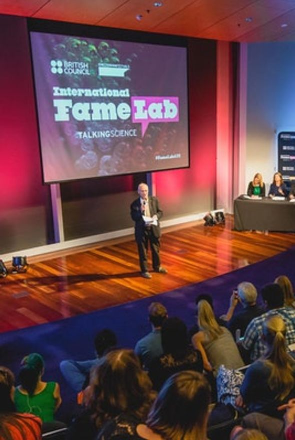 FameLab 2018 National Final
