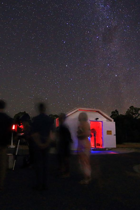Perth Observatory - Doctor Who Night
