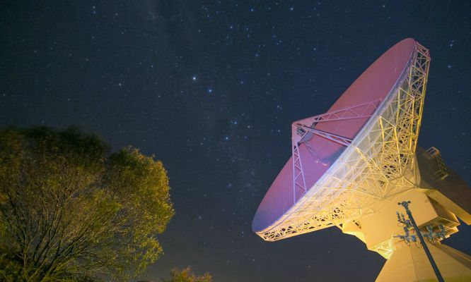 New Norcia ground station satellite dish, NNO-1