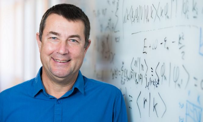 Eminent Australian physics professor at the forefront of his field