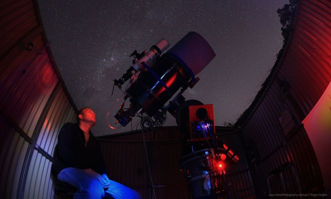 Beyond nightscapes: Exploring beyond our visible night sky