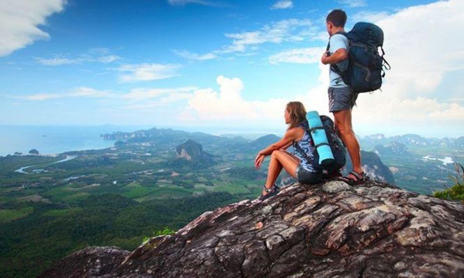Backpacking builds character, confidence and problem solving skills
