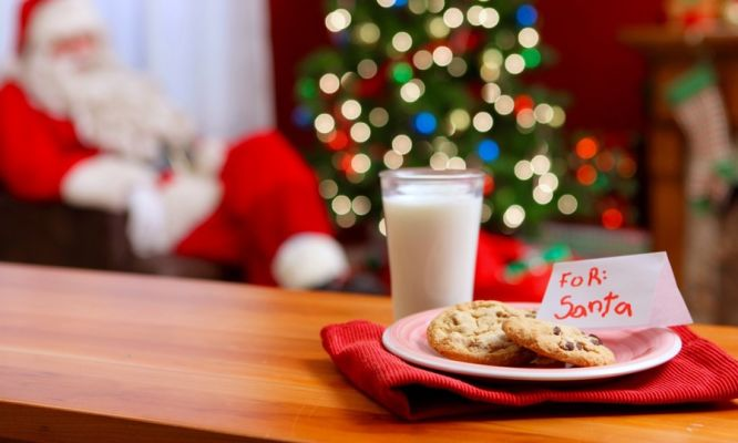 Santa calorie counting
