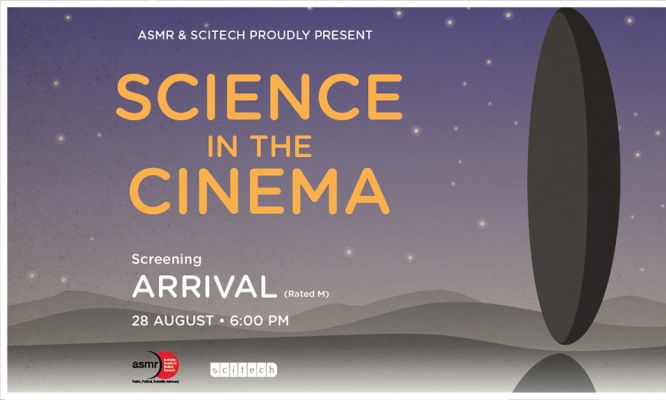 ASMR WA & Scitech present Science in the Cinema