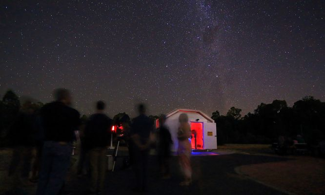 Perth Observatory – Doctor Who Night