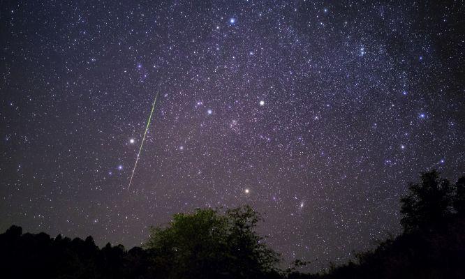 Eta Aquariid Meteor Shower Peak