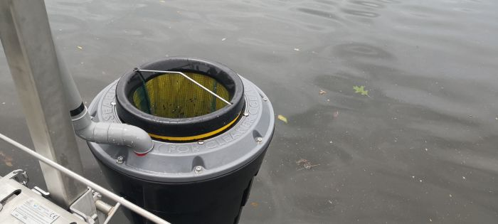 Subiaco Seabin cleans up