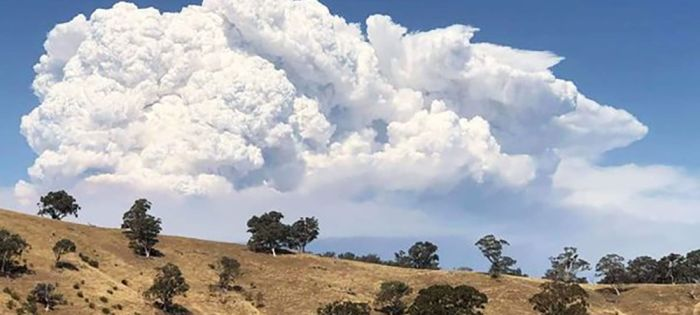 When bushfires create their own weather system