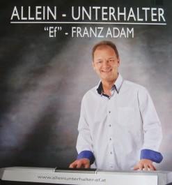 Alleinunterhalter - Franz ADAM