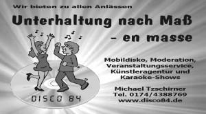 Disco 84, M. Tzschirner
