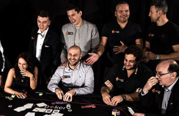 Team partypoker at the 2017 WSOP