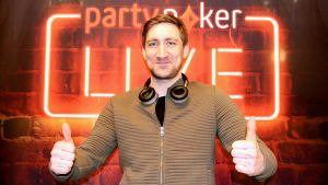 Ferdia O'Connell Wins €180,000 from a Single Cent with partypoker LIVE