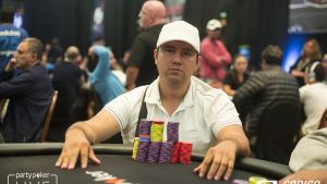 Adalfer Morales Gamarra Finishes Top of the Pile in the $1,100 LAPC Main Event on Day 1c