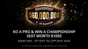 KO a Pro to win a POWERFEST Championship Ticket