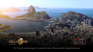 Win a MILLIONS South America Package!