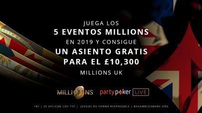 Recompensa de Lealtad Tour MILLIONS 2019