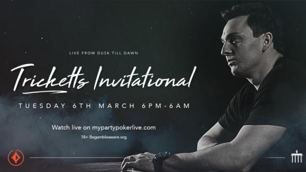 Sam Trickett Invitational Coming to partypoker TV