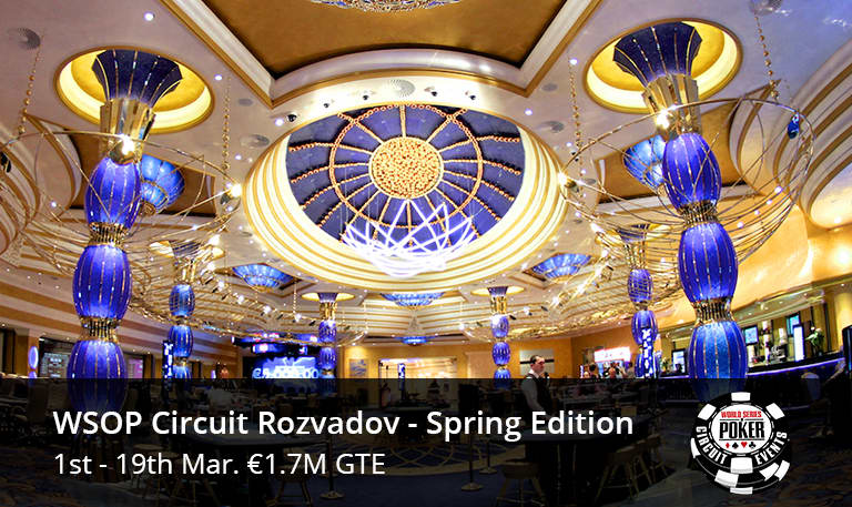WSOP Circuit Rozvadov - Spring Edition