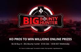 KO a Pro: Win a MILLIONS Online Seat in BIG Bounty Hunter!