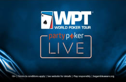 partypoker LIVE and WPT Announce Four-Year Partnership!