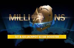 Win Double With MILLIONS Online SNG Jackpot $2.5M Boosters!