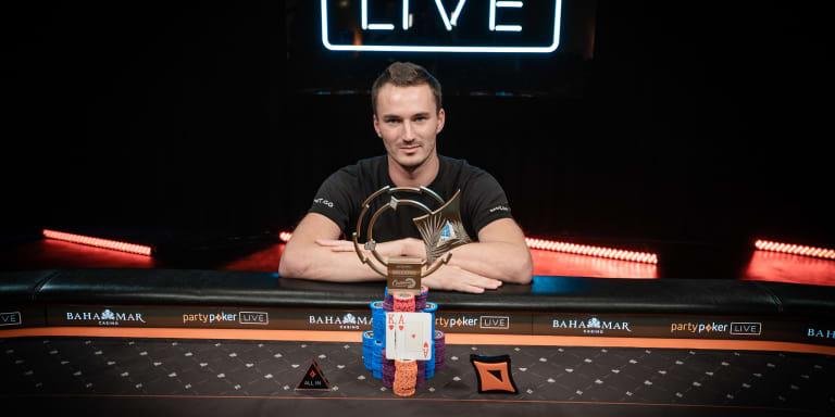 Sontheimer ganó el 250K SHR del Caribbean Poker Party