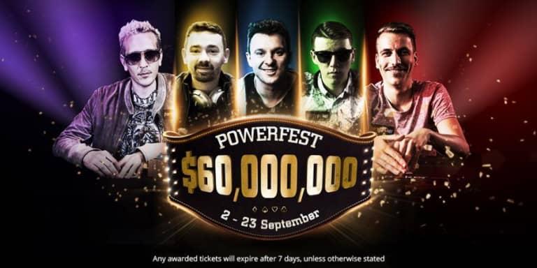 POWERFEST – трёхнедельный покерный марафон