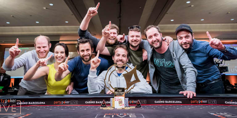 partypoker LIVE's Season One Ends in Style