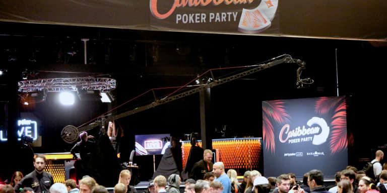 ¿Qué pasará hoy en el Caribbean Poker Party?