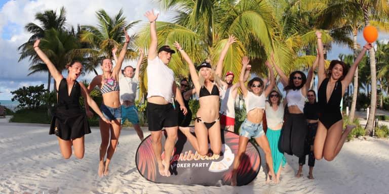 El Caribbean Poker Party se vistió de fiesta
