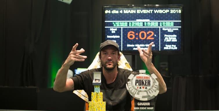 Muzzio lo dio vuelta y ganó la WSOP Uruguay