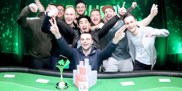 Mandara Makes it Rain at Irish Poker Open