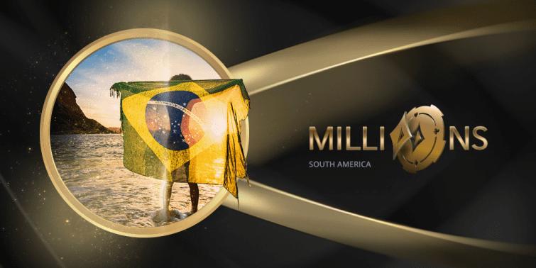 MILLIONS Rio: Toda semana 10 pacotes de 12k na tela do partypoker