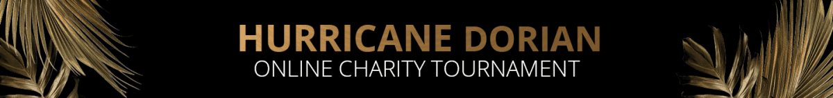 Hurricane Dorian Charity Tournament
