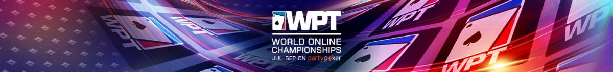 WPT World Online Championships Tickets