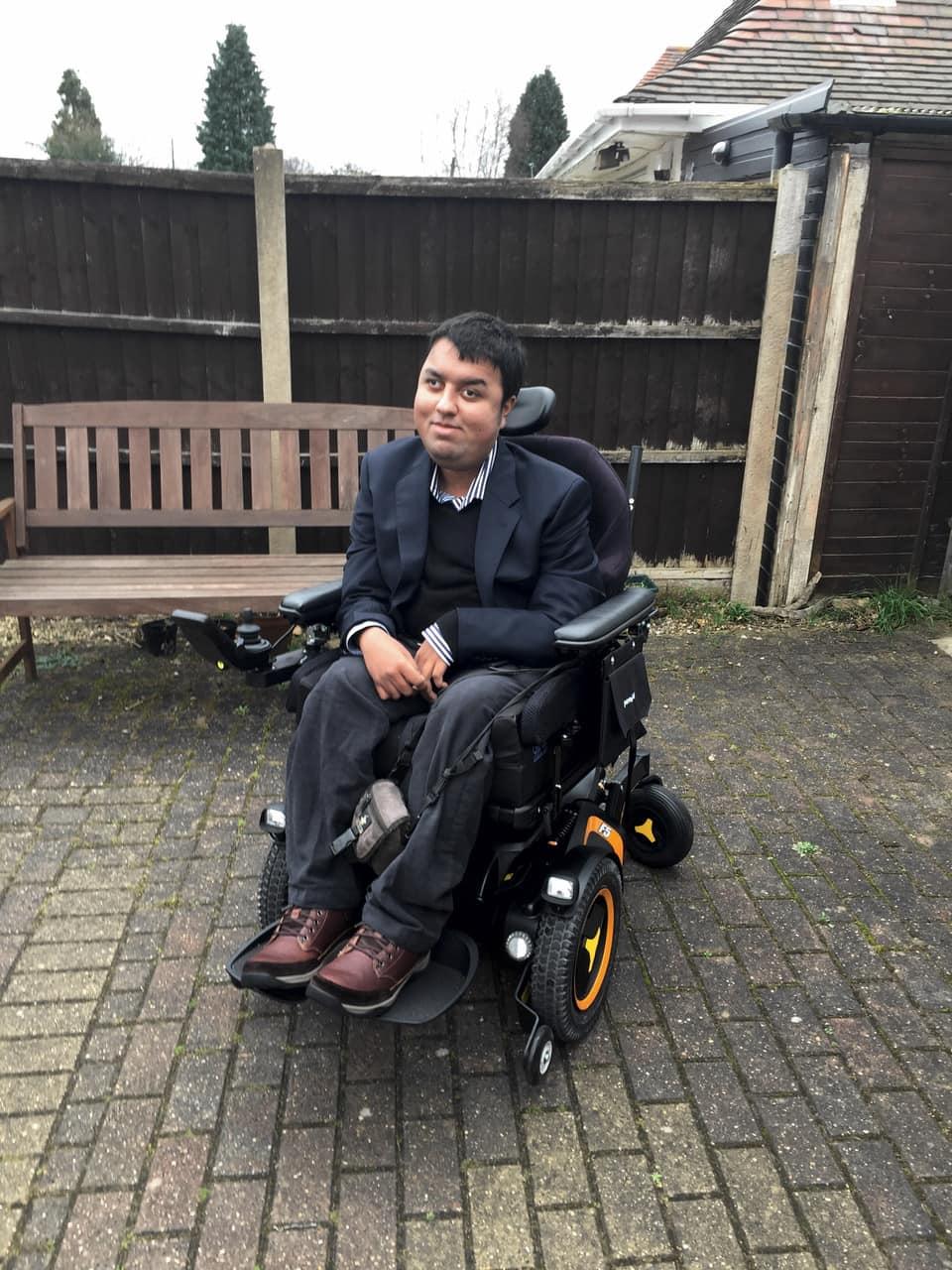Nirav's Electric Wheelchair