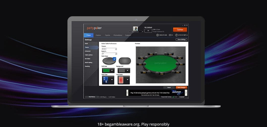 PARTYPOKER UPGRADES TOURNAMENT LOBBY WITH LATEST SOFTWARE UPDATE