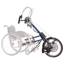 Hand-cycle for a wheelchair