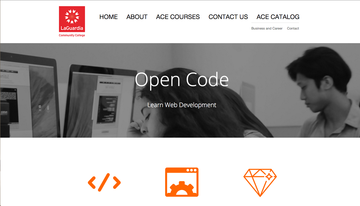 LaGuardia Community College Open Code