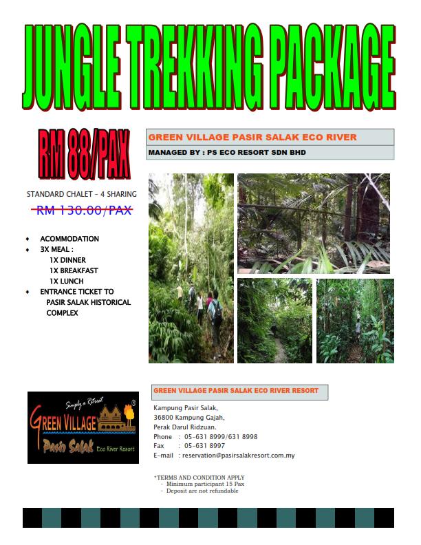 Pasir Salak Resort Jungle Trekking