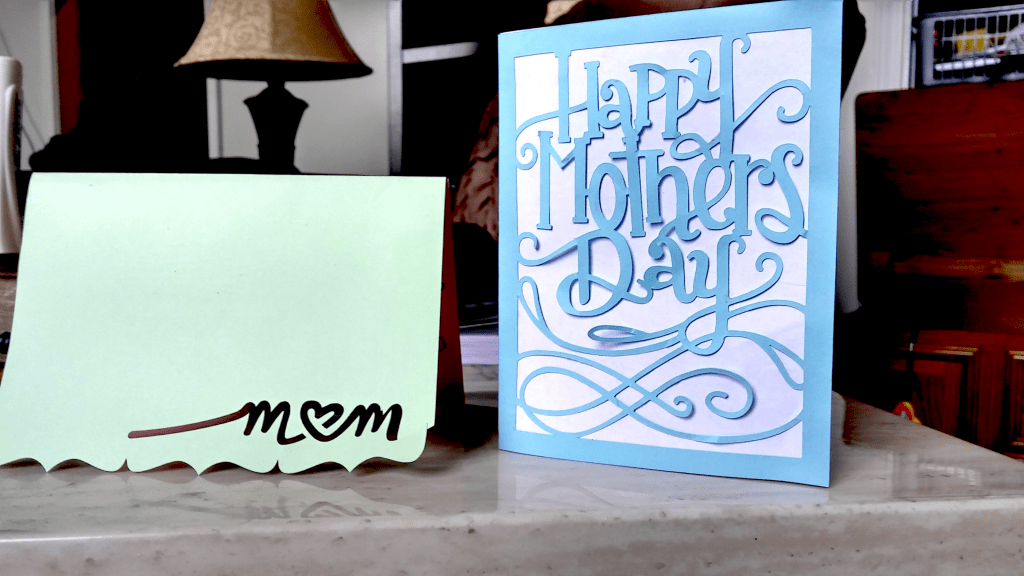 #Cricut Mother's Day Cards