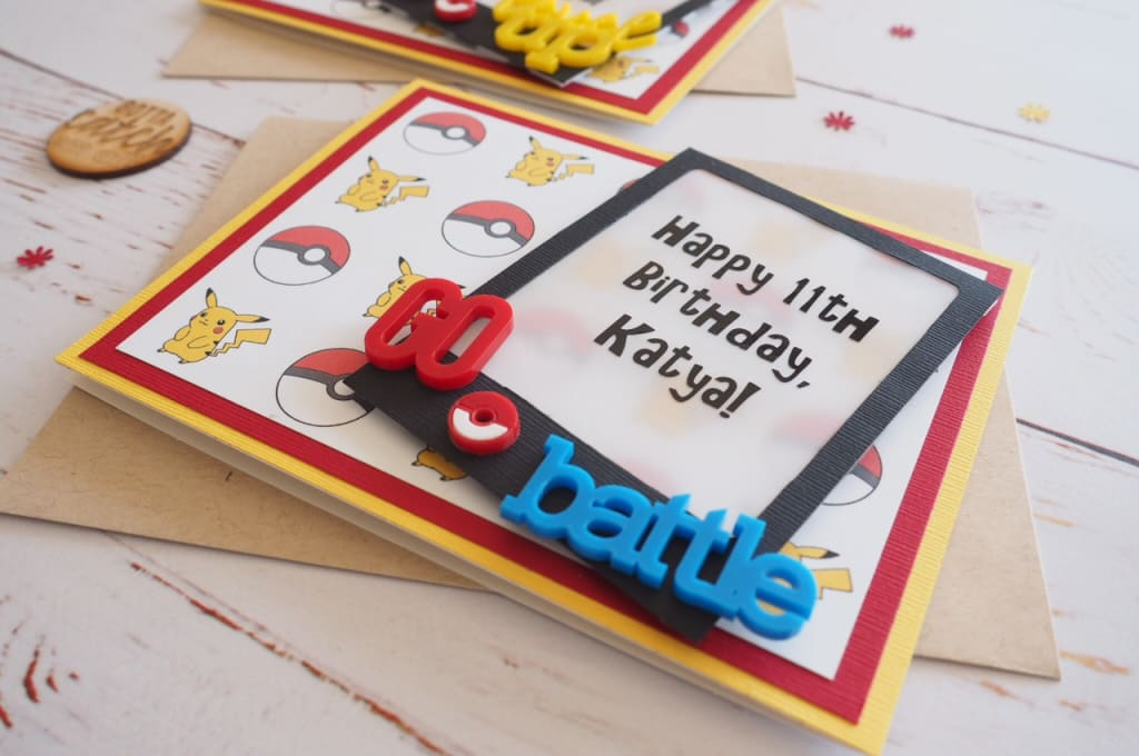 paper crafting-birthday