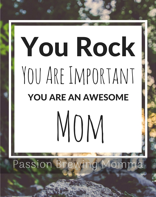 Here are 5 things to do when you feel invisible. Because You Rock Mom.