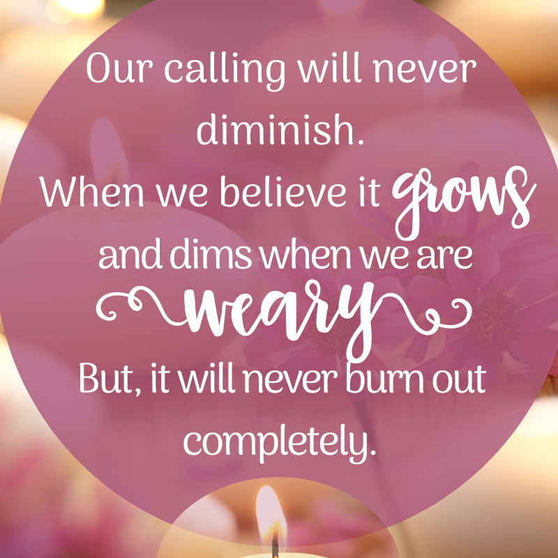 Our Calling Quote