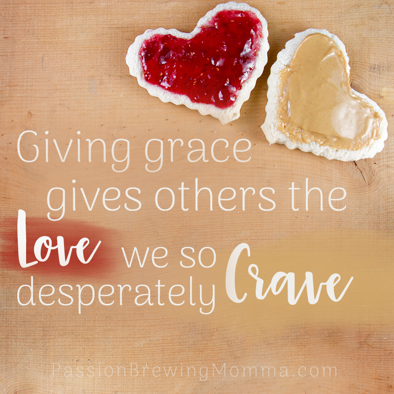 Giving grace is just as hard as giving grace to ourselves. When do we need to give grace? Listen to find out how giving grace can benefit our relationships.