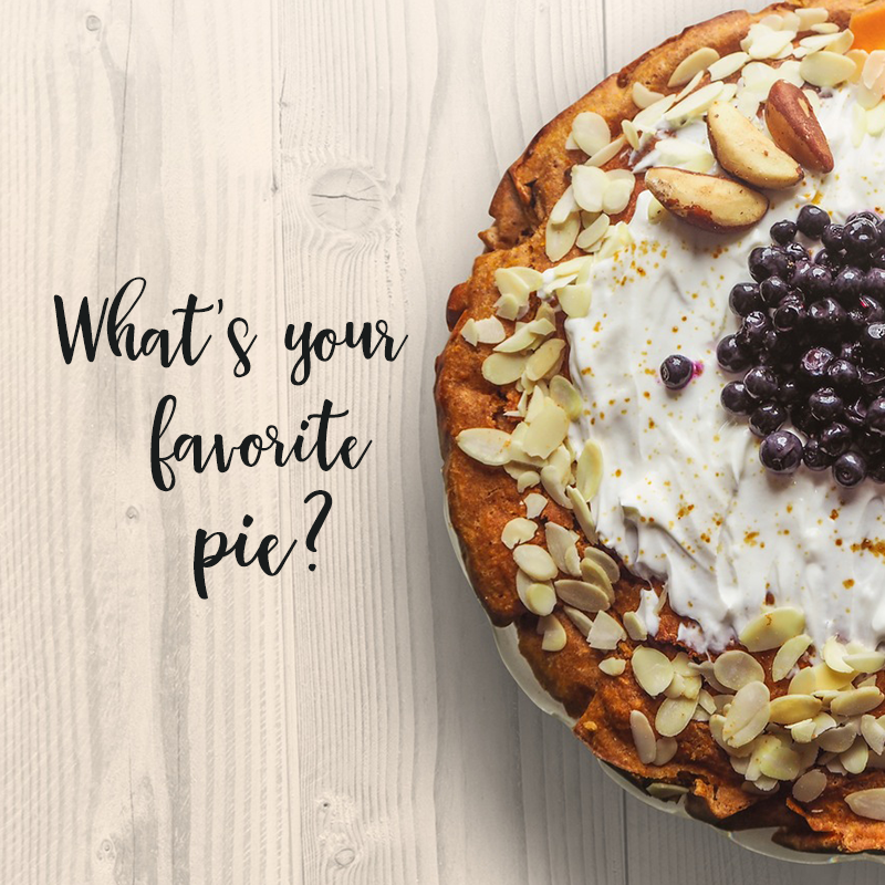 What's your favorite pie?