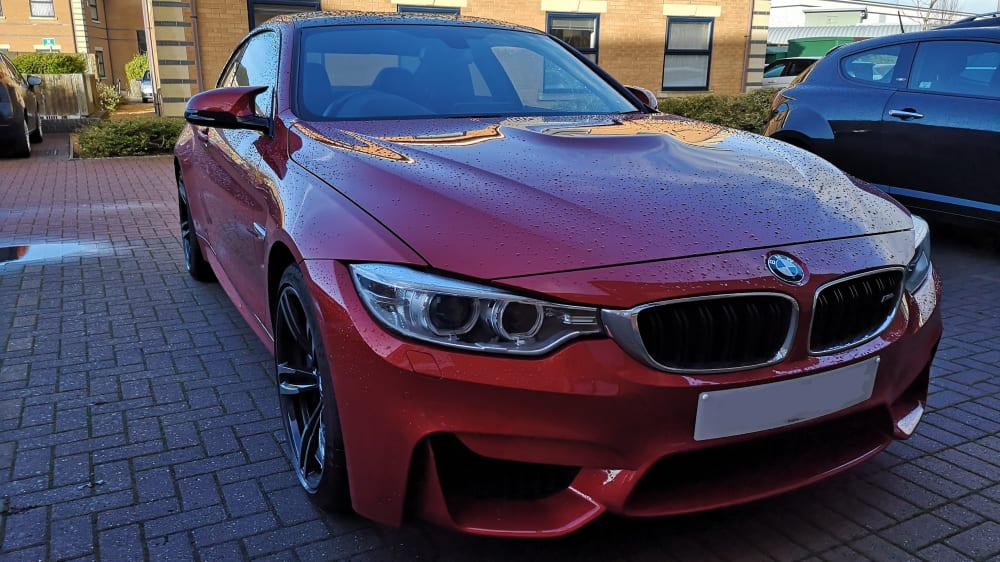 BMW 4 Series F32 M4 Coupe