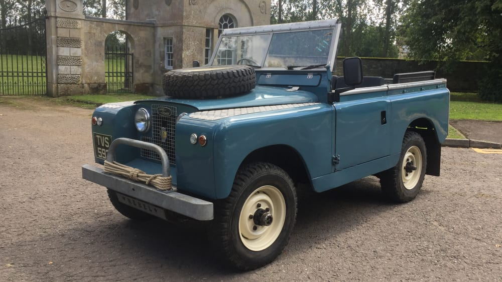 Land Rover Series II SWB 2 Door